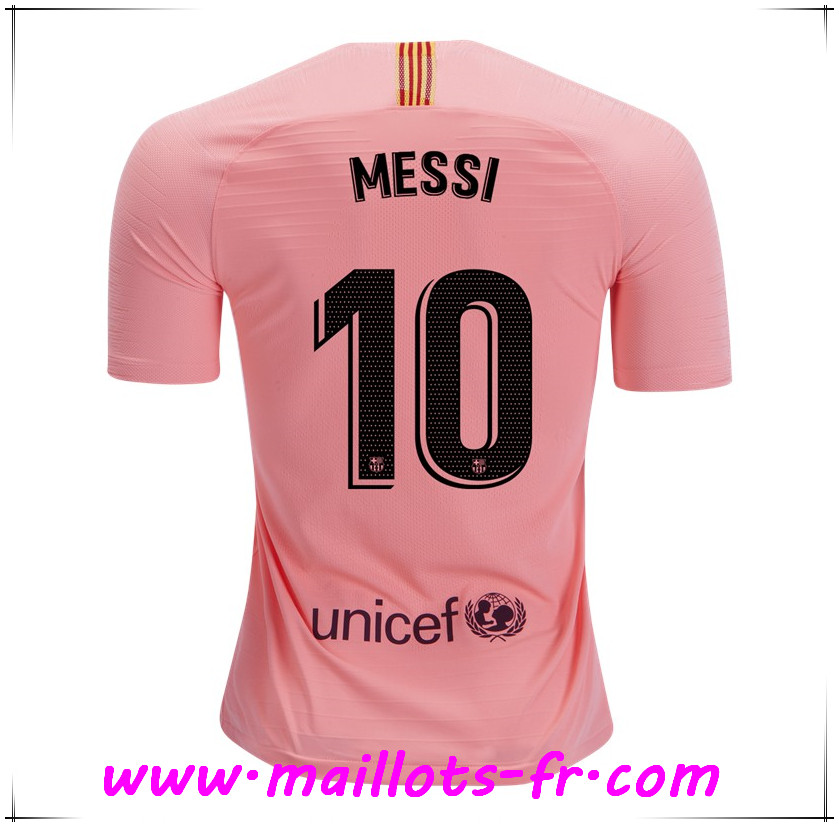 Maillots-fr Maillot de Foot FC Barcelone (10 MESSI) Third 2018/2019
