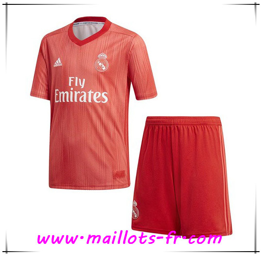 Maillots-fr nouveau Maillot de Foot Real Madrid Enfants Third 2018/19