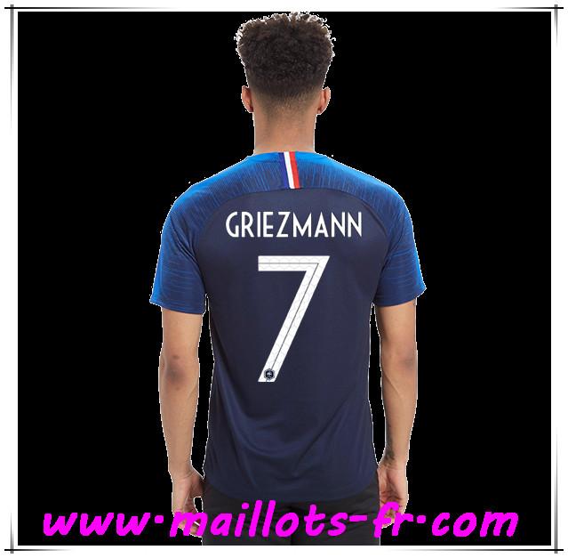 9beea7cbd8240 Maillots-fr Thailande Maillot de foot France Coupe Du Monde 2018 (Griezmann  7)