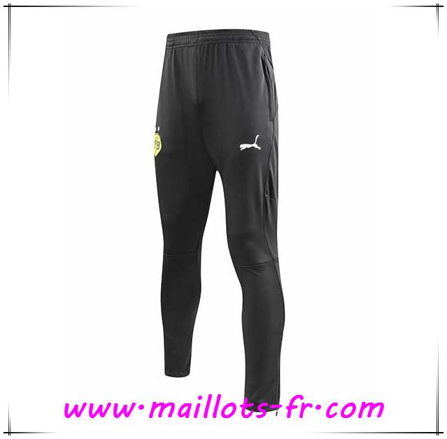 17d4e63a7a8 Maillots-fr nouveau Training Pantalon Foot Dortmund BVB Noir 2018 2019