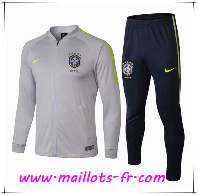 Survetement 18 Veste Gris Off De Foot 70 19 Copie Ensemble Brésil 50nTFqPZW