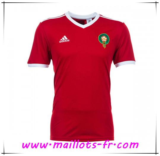 Maillots-fr Maillot Équipes nationales Maroc Domicile
