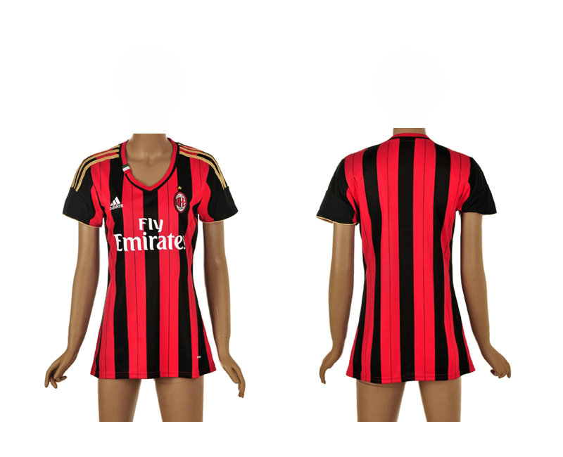 Maillot Domicile AC Milan Femme