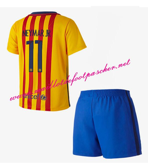 Nouveau maillot de foot barcelona enfant exterieur 2015 for Maillot exterieur barca