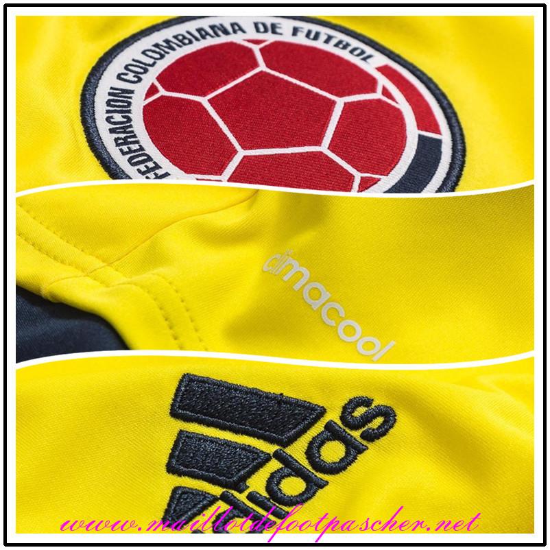 nouveau maillot foot colombie valderrama 10 2015 domicile pas cher. Black Bedroom Furniture Sets. Home Design Ideas