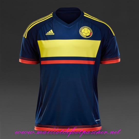 nouveau maillot foot colombie p armero 7 2015 exterieur pas cher. Black Bedroom Furniture Sets. Home Design Ideas
