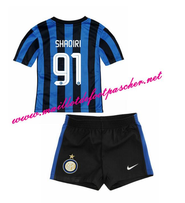 nouveau maillot de foot inter milan enfant domicile 2015 2016 91 shaqiri pas cher. Black Bedroom Furniture Sets. Home Design Ideas