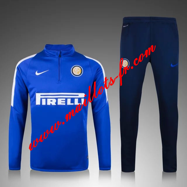 maillots-fr: Survetement de foot Inter Milan Bleue 2015 2016