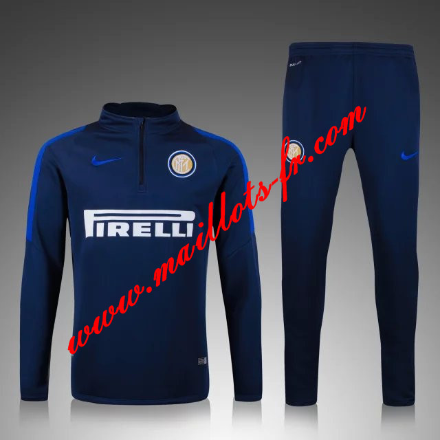 maillots-fr: Survetement de foot Inter Milan Le bleu marine 2015 2016