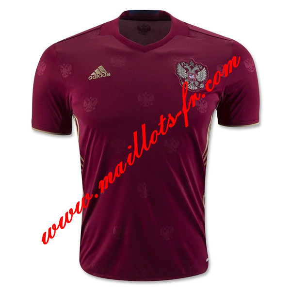 maillots-fr: Maillot de foot Russie 2016 2017 Domicile
