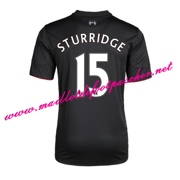 maillots-fr: Premier League Nouveau Maillot foot Liverpool (STURRIDGE 15) Third 2015 2016 Saison
