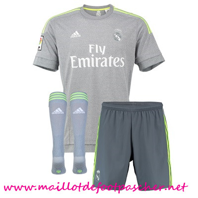 a vendre nouveau maillot de foot real madrid enfant 2015 2016 saison exterieur. Black Bedroom Furniture Sets. Home Design Ideas