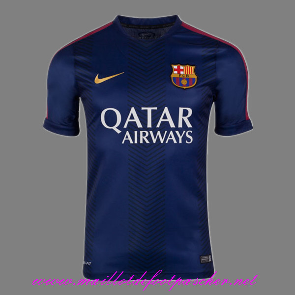 maillots-fr: Training de foot Barcelone Bleu Marine 2015/2016