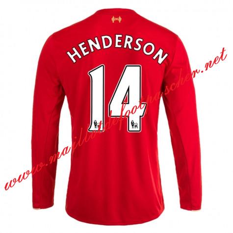 tenue de foot Liverpool LONGUES