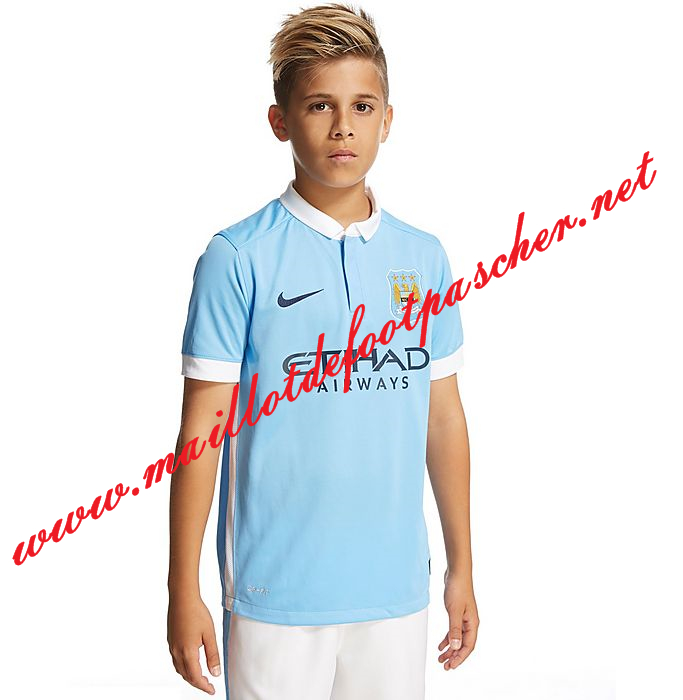 Maillot Extérieur Manchester City Enfant