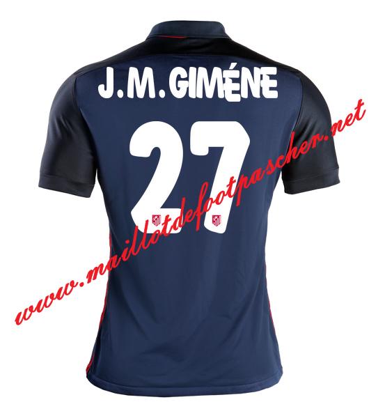 Maillot Domicile Atlético de Madrid J. M. Giménez