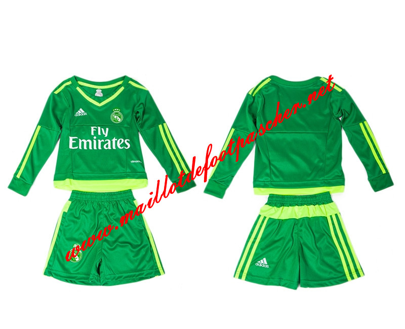 maillots-fr: Nouveau Maillot Real Madrid Manche Longue Goalkeeper 2015/2016
