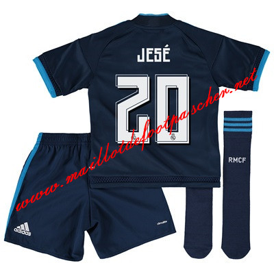 maillots-fr: La Liga Nouveau Maillot foot Real Madrid Enfant (Jese 20) Third 2015 2016