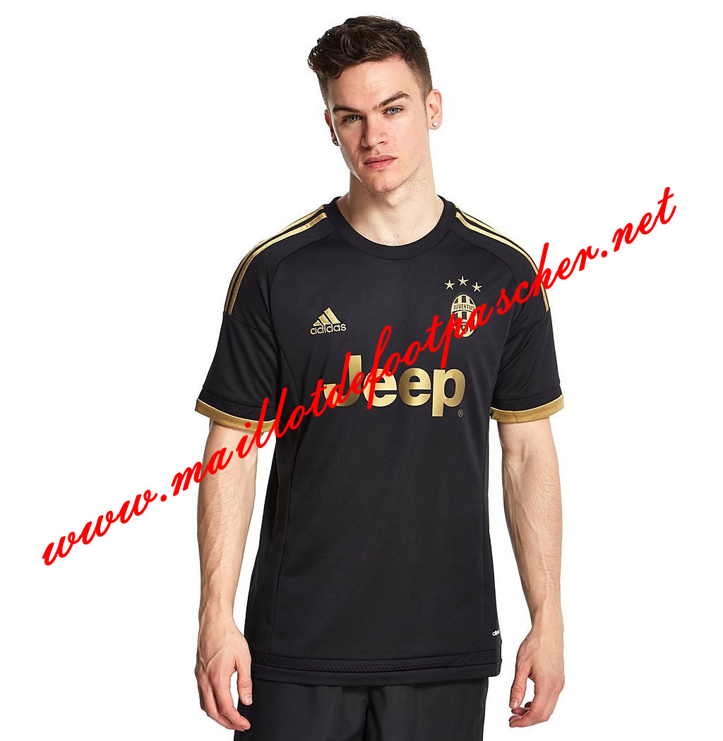 maillots-fr: Serie A Nouveau Maillot foot Juventus Third 2015 2016