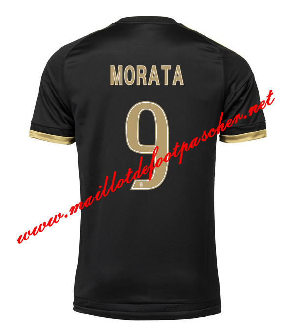 maillots-fr: Serie A Nouveau Maillot foot Juventus (MORATA 9) Third 2015 2016