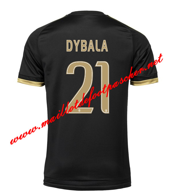 maillots-fr: Serie A Nouveau Maillot foot Juventus (DYBALA 21) Third 2015 2016