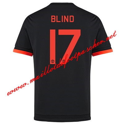 maillots-fr: Premier League Nouveau Maillot foot Manchester United (Blind 17) Third 2015 2016