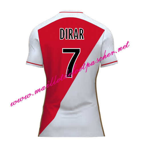 maillots-fr: Officiel Nouveau Maillot foot AS Monaco Domicile 2015 2016 (DIRAR 7)