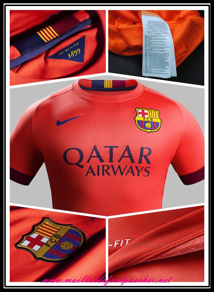 la liga nouveau maillot foot barcelone enfant 2014 2015 saison exterieur suarez 9 shopping. Black Bedroom Furniture Sets. Home Design Ideas