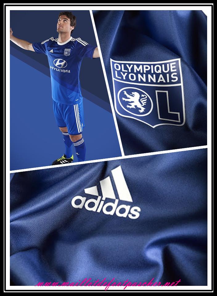 Ligue 1 nouveau maillot foot lyon enfant 2014 2015 saison - Lyon nice pas cher ...
