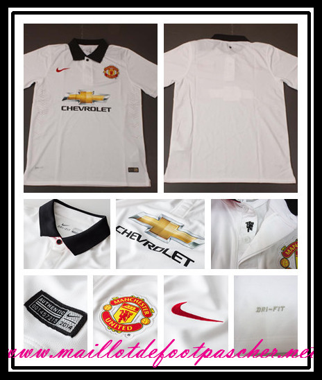 Premier league nouveau maillot foot manchester united for Manchester united exterieur