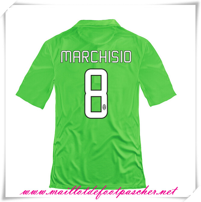 maillots-fr: Serie A Nouveau Maillot foot Juventus Third 2014 2015 Saison (Marchisio 8)