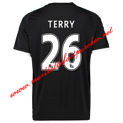 maillots-fr: Officiel Nouveau Maillot foot Chelsea Third 26 Terry 2015 2016