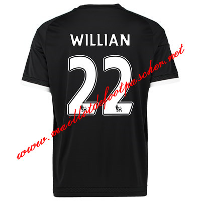 maillots-fr: Officiel Nouveau Maillot foot Chelsea Third 22 Willian 2015 2016