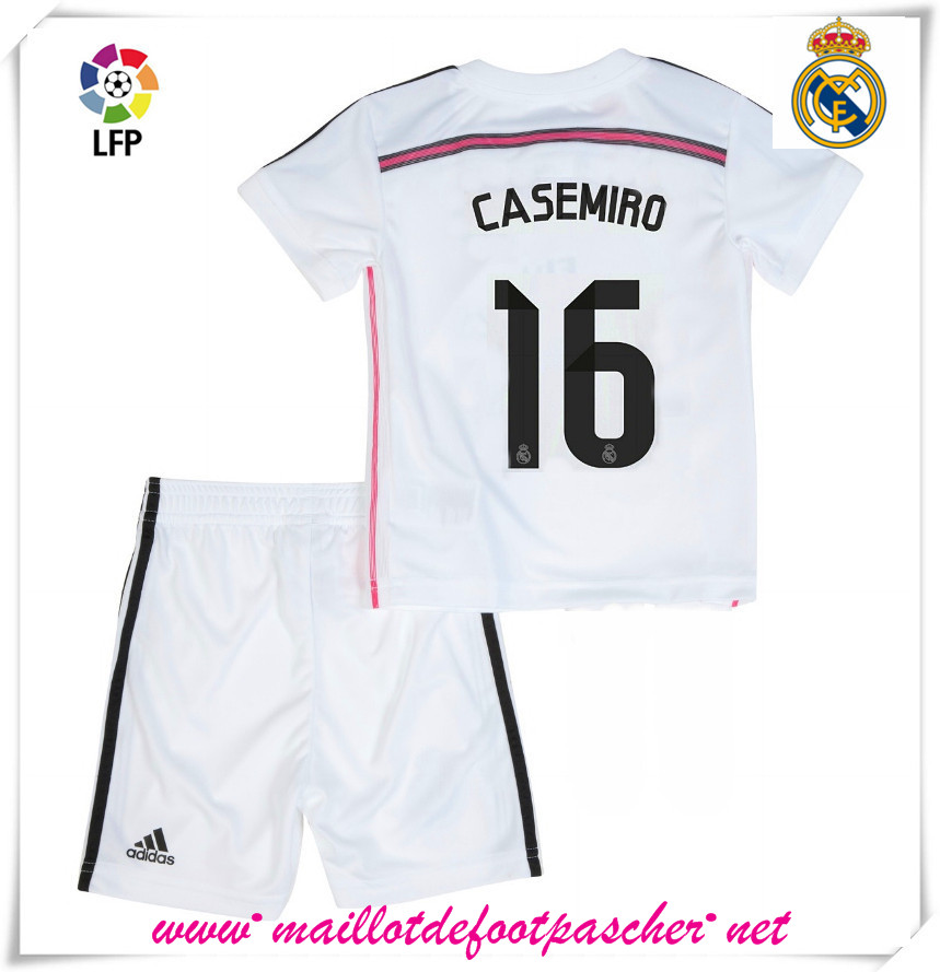 Maillot Domicile Real Madrid Casemiro