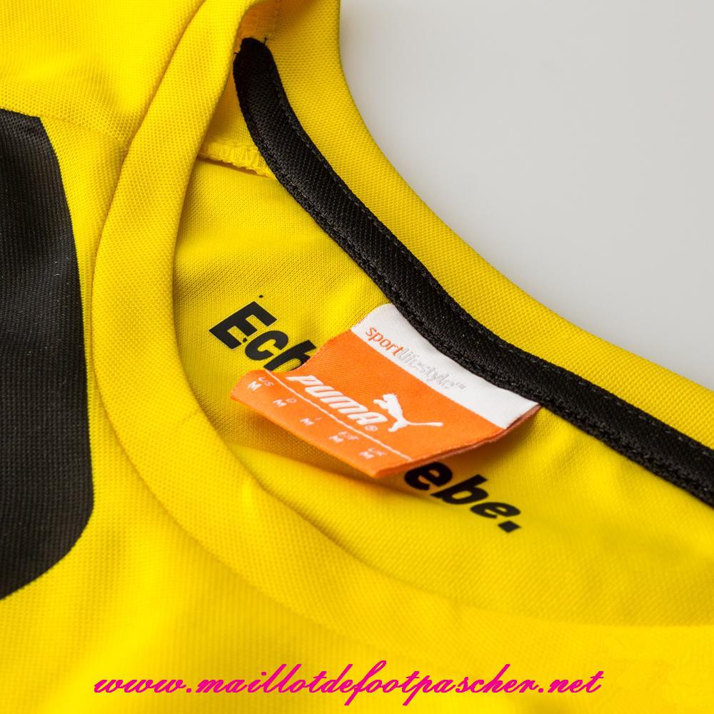 bundesliga nouveau maillot dortmund mkhitaryan 10 domicile 2014 2015 prix pas chere. Black Bedroom Furniture Sets. Home Design Ideas