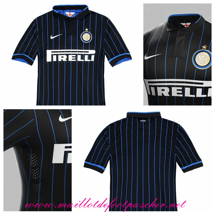 serie a nouveau maillot inter milan d 39 ambrosio 33 domicile 2014 2015 prix pas chere. Black Bedroom Furniture Sets. Home Design Ideas
