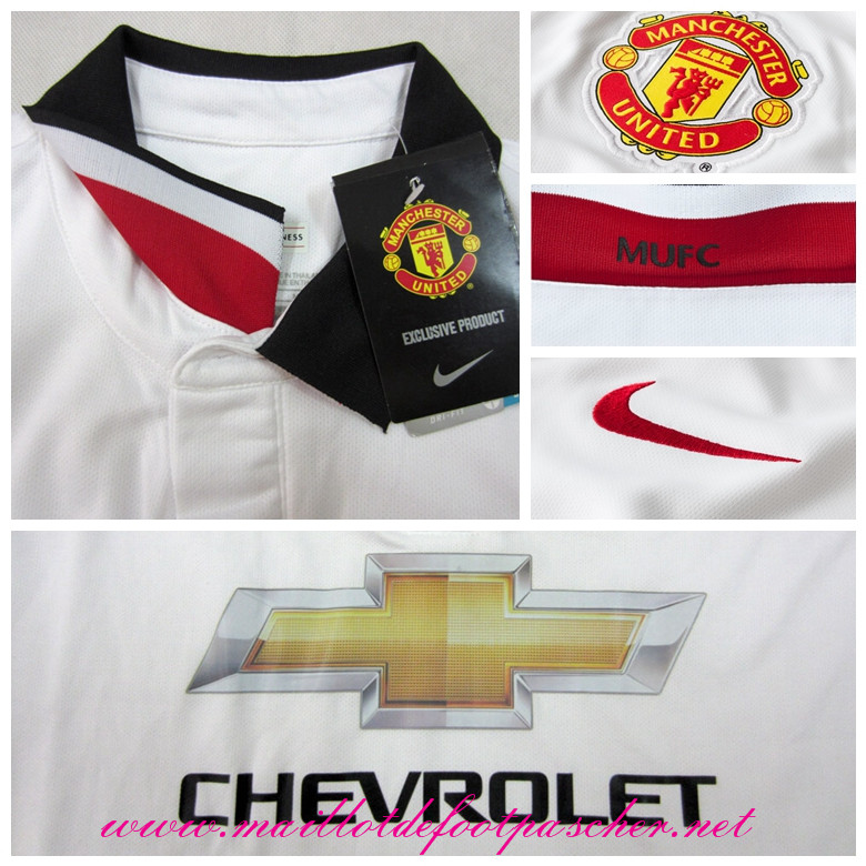 Premier league nouveau maillot manchester united jones 4 for Manchester united exterieur