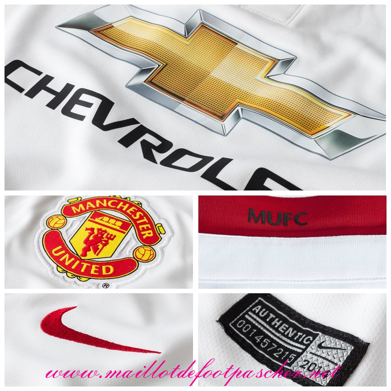 Premier league nouveau maillot manchester united smalling for Manchester united exterieur