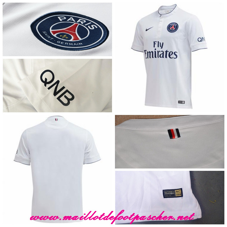 ligue 1 nouveau maillot psg silva 2 exterieur 2014 2015 prix pas chere. Black Bedroom Furniture Sets. Home Design Ideas